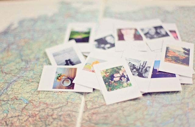 Decorativa, fotografias sueltas