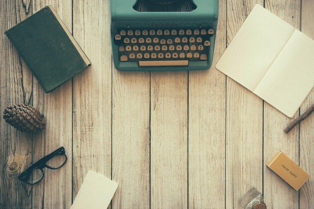 mesa para escribir