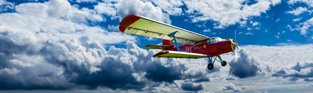 avión antiguo